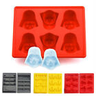 Star Wars Silicone Ice Tray Mold Ice Cube Tray Chocolate Pudding DIY Han Solo UK £3.75 GBP on eBay