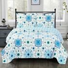 Refreshing Arielle Wrinkle-Free Over Sized Quilt Set image