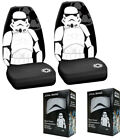 New Star Wars Stormtrooper Front Pair High Back Bucket Car Seat Covers $85.98 USD on eBay