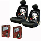 New Classic Betty Boop Blow Kiss Front Pair Low Back Car Seat Covers $49.98 USD on eBay