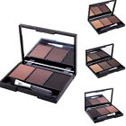 3 Colors Eyebrow Powder Palette Eye Brow Enhancer Waterproof