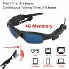 Wireless Bluetooth Sunglasses Polarized Stereo Headset Headphone MP3 Player QW