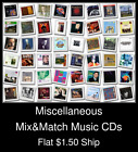 Miscellaneous(1) - Mix&Match Music CDs U Pick *NO CASE DISC ONLY*