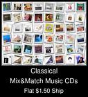 Classical(5) - Mix&Match Music CDs U Pick *NO CASE DISC ONLY*