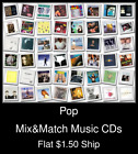Pop(11) - Mix&Match Music CDs U Pick *NO CASE DISC ONLY*