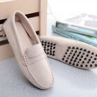 Men's Suede Casual Driving Shoes Loafers Peas Flats  Moccasins Slip On Fashion