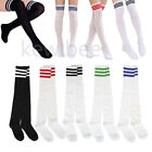 Women Girls Spring Stretch Knee High Sock Elastic Thigh Stocking