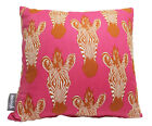 """ZEBRA PINK AFRICA ANIMAL PRINT CUSHION COVER ALEXANDER HENRY BED SOFA PILLOW 16"""""""