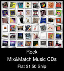 Rock(21) - Mix&Match Music CDs U Pick *NO CASE DISC ONLY*