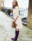 BODEN Cream Military Moleskin Coat UK 8 10 16 Regular Brand New £119 8R 10R 16R