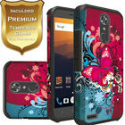 For ZTE Blade Spark Z971 Case Cover + Tempered Glass Screen Protector