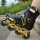 Single-row Roller Skates Professional Inline Skates Shoes For Adult Men Women SW