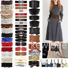 Women Fashion Bow Tie Elastic Waistband Waist Strap Cummerbund for Dress
