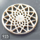 925 Sterling Silver DREAMCATCHER 14mm PENDANT CONNECTOR Necklace Charms