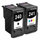2-PACK [PG-240 / CLI-241] Black/Color Ink Cartridge Set for Canon PIXMA Printer