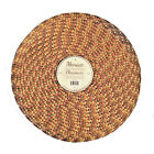"""Braided Woven Indoor/Outdoor Placemat Charger Set Of 4 15"""" Round You Choose NEW"""