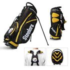 Licensed NFL Pittsburgh Steelers Team Golf Stand Bag