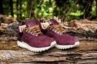 New Balance NB TBATRC ROSSO camoscio pelle bordeaux 574 gomma 530 TRACKING OFF