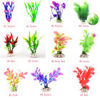 Fish Tank Aquarium Decor Artificial Water Plants Multi Styles Tropical Grass HOT