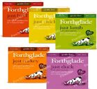 FORTHGLADE JUST x36 - 395g (18pack x2) - Complete Dog Food Meal bp Grain Free 36