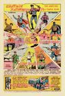 CAPTAIN ACTION 1966 Super Hero = POSTER Very Large 3 1/2 x 6 1/2 - 7 Feet Long