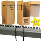 NEW LARGE STRONG WARDROBE CARDBOARD BOXES WITH HANGING RAILS FOR MOVING REMOVAL