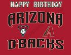 Arizona Diamondbacks Edible Print Premium Cake Toppers Frosting Sheets 5 Sizes