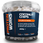 100% Pure Coconut Chips Nutrient Dense Snack from THE PROTEIN WORKS™ - 200g