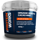 Organic Raw Roasted Cacao Nibs from THE PROTEIN WORKS™ - 400g