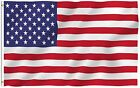 ANLEY Fly Breeze 3x5 Foot American US Polyester Flag Vivid Color and UV Fade USA