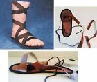 ROMAN Sandals Med OR Lrg Adult  Soldier Gladiator Easter Halloween Costume