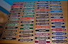 BRAND NEW STOCK !! QUALITY RAILWAY TOTEM MAGNETS/ SIGNS DROP DOWN LARGE LIST
