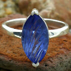 Simulated Tanzanite 925 Sterling Silver Ring Jewelry Size 6-9 DGR1077_B