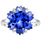 Simulated Tanzanite 925 Sterling Silver Ring Jewelry Size 6-9 DGR1084_H