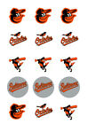 Baltimore Orioles Edible Print Cupcake/Cookie Toppers Frosting Sheets 2 Sizes on Ebay