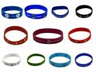 Football Clubs Rubber Crest Single Wristband - Official Merchandise - BRAND NEW