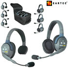 Eartec Wireless Headsets UltraLITE UL 2 3 4 Single Dual w/ Rechargeable Battery