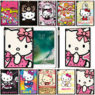Colorful Hello Kitty Hard Metal Case iPad Pro Air Mini 2 3 4 5 Protective Cover