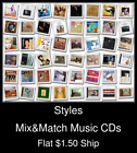 Styles(23) - Mix&Match Music CDs U Pick *NO CASE DISC ONLY*