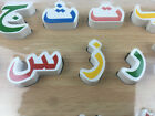 Wooden English Arabic Full Puzzle Jigsaw Alphabet Letter Educational Toy Learn