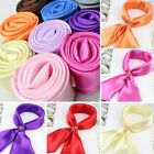Kyпить Fashion Ladies Square Satin Scarf Solid Colors на еВаy.соm