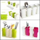 Multipurpose Kitchen Flatware Caddy Organizer Cutlery Utensil Drying Rack Holder