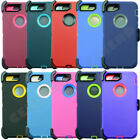 For Apple iPhone 7 Case Cover w/Screen(Belt Clip fits Otterbox Defender)