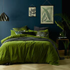 NEW Mossy Road Cotton Velvet Quilt Cover Set Vintage Designs Quilt Covers