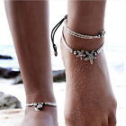 Summer Boho Starfish Anklet Vintage Ankle Bracelet Women Buddha Foot Jewelry FO
