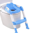 Kids Foldable Potty Trainer Chair Toilet Seat Safety Baby Non-Slip Ladder Stool