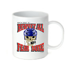Coffee Cup Mug Travel 11 15 oz Hockey Respect All Fear None