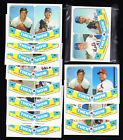 2018 TOPPS HERITAGE Then and Now:  COMPLETE YOUR SET YOU PICK