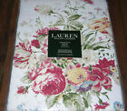 Ralph Lauren ANTIBES FLORAL RED Cotton Tablecloths or Napkins--NWT