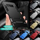 Shockproof Hybrid Rubber Hard Case Cover with Kick-Stand For Samsung Galaxy S8+